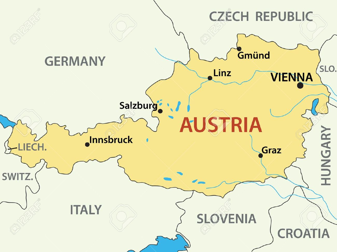 11052260-map-of-Austria-vector-illustrat